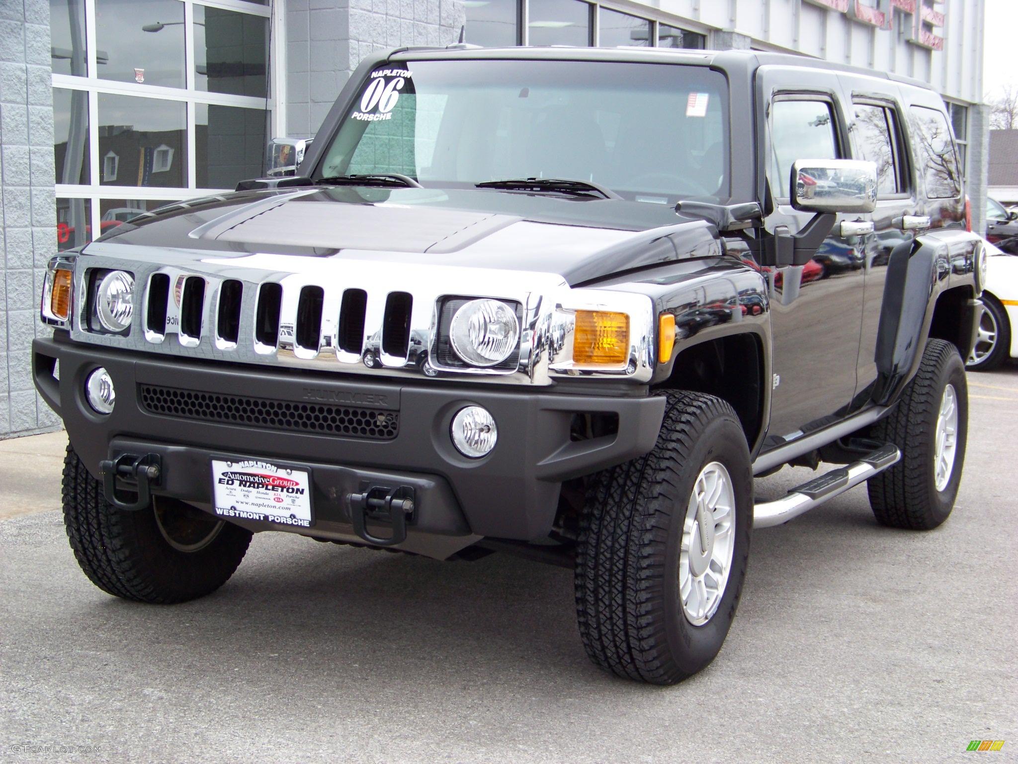 2006 Black Hummer H3