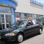 1994 Aztec Green Metallic Honda Civic Ex Sedan 15260764 Gtcarlot Com Car Color Galleries