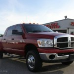 2007 Inferno Red Crystal Pearl Dodge Ram 3500 Slt Mega Cab 4x4 Dually 15335886 Gtcarlot Com Car Color Galleries