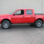 2004 Aztec Red Nissan Frontier Xe V6 Crew Cab 2062353 Gtcarlot Com Car Color Galleries