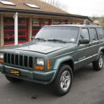 2000 Medium Fern Green Metallic Jeep Cherokee Classic 4x4 28312889 Gtcarlot Com Car Color Galleries