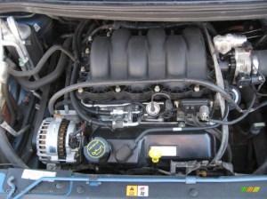 2003 Ford Windstar LX 38 Liter OHV 12 Valve V6 Engine