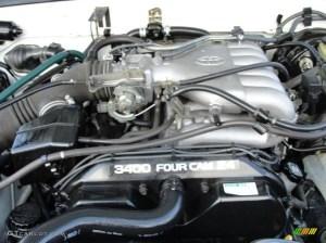 1998 Toyota 4Runner SR5 34 Liter DOHC 24Valve V6 Engine