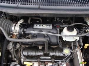 2003 Chrysler Town & Country LX 38L OHV 12V V6 Engine
