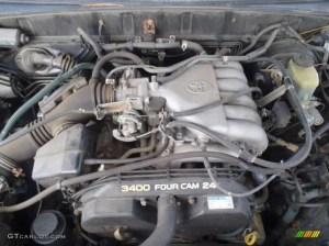 1998 Toyota 4Runner Limited 4x4 34 Liter DOHC 24Valve V6