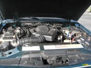 1998 Ford Explorer XLT 40 Liter OHV 12Valve V6 Engine