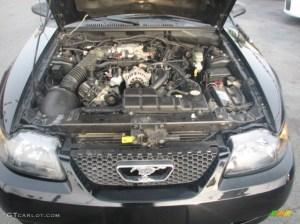 2002 Ford Mustang GT Convertible 46 Liter SOHC 16Valve
