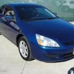 2003 Sapphire Blue Pearl Honda Accord Ex V6 Coupe 40133977 Gtcarlot Com Car Color Galleries