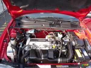 2002 Pontiac Sunfire GT Coupe 22 Liter DOHC 16Valve 4