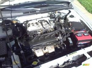 1995 Nissan Sentra GXE 16 Liter DOHC 16Valve 4 Cylinder