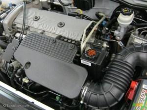 2000 Chevrolet Cavalier Z24 Convertible 24 Liter DOHC 16Valve 4 Cylinder Engine Photo
