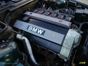 1993 BMW 5 Series 525i Sedan Engine Photos | GTCarLot
