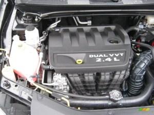 2011 Chrysler 200 Touring 24 Liter DOHC 16Valve Dual VVT