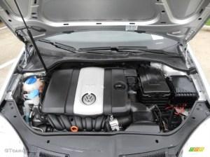 2006 Volkswagen Jetta 25 Sedan 25 Liter DOHC 20Valve 5