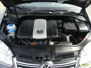 2007 Volkswagen Jetta 25 Sedan 25 Liter DOHC 20 Valve 5