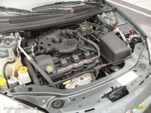 2002 Chrysler Sebring LXi Sedan 27 Liter DOHC 24Valve V6