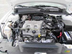2005 Pontiac Grand Am SE Sedan 34 Liter OHV 12Valve V6