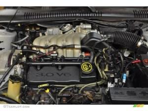 1998 Ford Taurus SE 30 Liter OHV 12Valve V6 Engine Photo