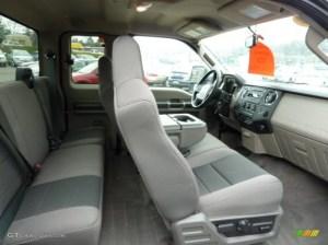 Medium Stone Interior 2010 Ford F250 Super Duty XLT