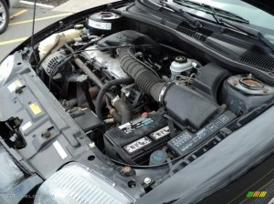 2001 Pontiac Sunfire SE Coupe 22 Liter Inline 4 Cylinder
