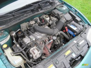 1997 Pontiac Sunfire SE Coupe 22 Liter OHV 8Valve 4