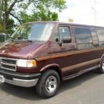 Dark Red Metallic 1997 Dodge Ram Van 2500 Conversion Exterior Photo 50702518 Gtcarlot Com