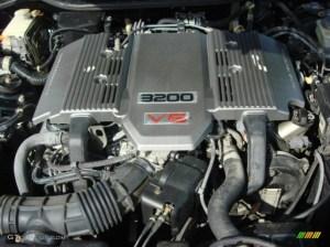 1996 Acura TL 32 Sedan 32 Liter SOHC 24Valve V6 Engine