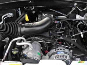 2011 Dodge Nitro Heat 4x4 37 Liter SOHC 12Valve V6