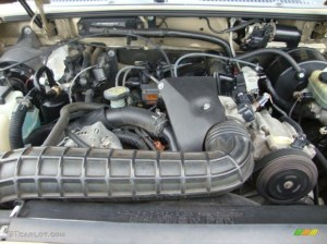 2000 Ford Explorer XLT 4x4 40 Liter OHV 12Valve V6