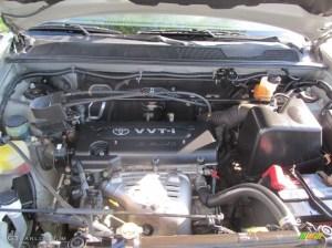 2002 Toyota Highlander 4WD 24 Liter DOHC 16Valve 4