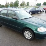 Clover Green Pearl 1999 Honda Civic Lx Sedan Exterior Photo 52900014 Gtcarlot Com