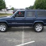 2000 Patriot Blue Pearl Jeep Cherokee Limited 4x4 53005029 Photo 8 Gtcarlot Com Car Color Galleries