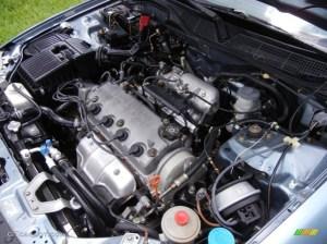2000 Honda Civic EX Sedan 16 Liter SOHC 16Valve 4