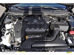 2009 Nissan Altima 25 S 25 Liter GDI DOHC 16Valve CVTCS