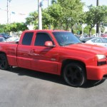 2003 Victory Red Chevrolet Silverado 1500 Ss Extended Cab Awd 54257347 Photo 9 Gtcarlot Com Car Color Galleries