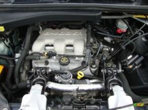 2000 Chevrolet Venture LT 34 Liter OHV 12Valve V6 Engine
