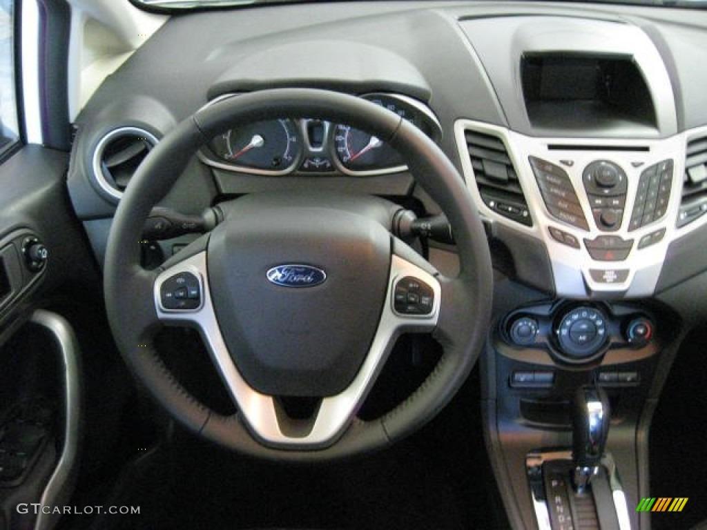 2012 Ford Fiesta SES Hatchback Charcoal BlackBlue