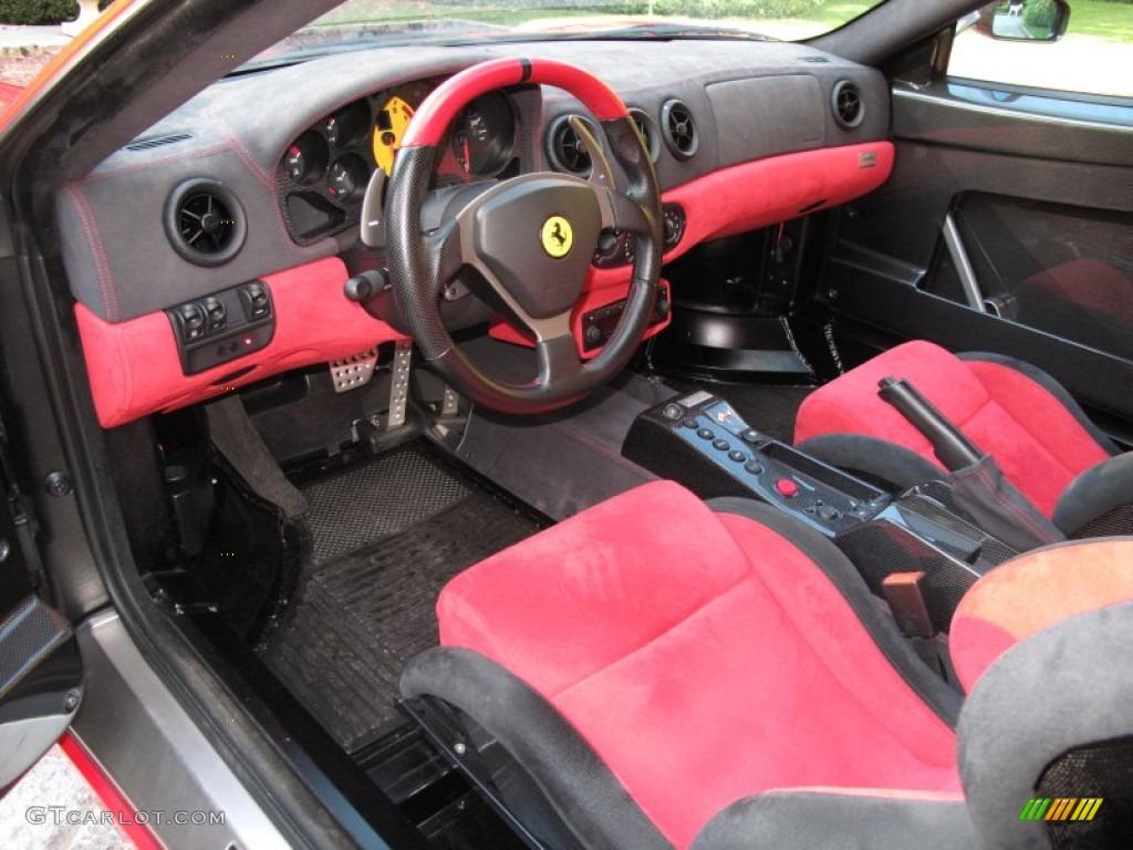 RedBlack Interior 2004 Ferrari 360 Challenge Stradale F1