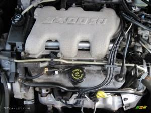 2002 Pontiac Grand Am SE Coupe 34 Liter OHV 12Valve V6