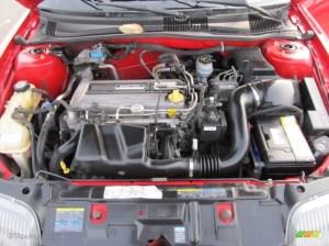 2002 Pontiac Sunfire SE Coupe Engine Photos | GTCarLot