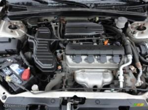 2001 Honda Civic EX Sedan 17L SOHC 16V 4 Cylinder Engine Photo #57476311   GTCarLot