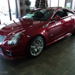 2012 Crystal Red Tintcoat Cadillac Cts V Coupe 57696018 Gtcarlot Com Car Color Galleries