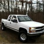 1995 White Chevrolet C K K1500 Silverado Z71 Extended Cab 4x4 59669377 Gtcarlot Com Car Color Galleries