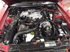 2002 Ford Mustang V6 Coupe 38 Liter OHV 12Valve V6