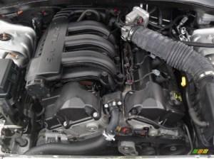 2009 Dodge Charger SE 27 Liter DOHC 24Valve V6 Engine