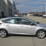 Ingot Silver Metallic 2012 Ford Focus Se Sport 5 Door Exterior Photo 61149620 Gtcarlot Com