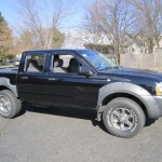 Super Black 2003 Nissan Frontier Xe V6 Crew Cab 4x4 Exterior Photo 61387129 Gtcarlot Com