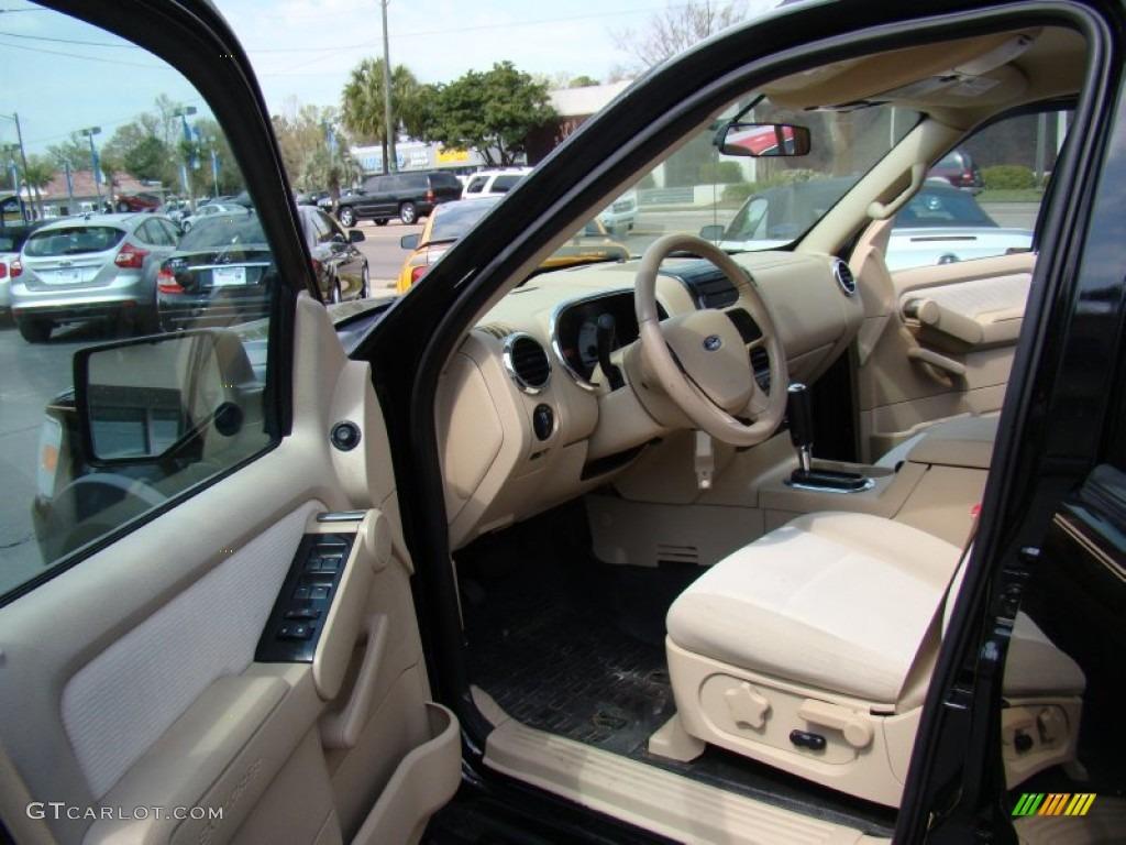 Camel Interior 2007 Ford Explorer Sport Trac XLT Photo