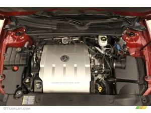 2006 Buick Lucerne CXL 46 Liter DOHC 32 Valve Northstar