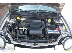 1998 Dodge Neon Highline Sedan 20 Liter DOHC 16Valve 4